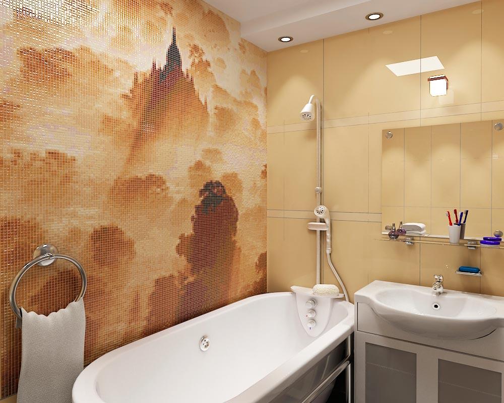 Другие варианты дизайна панно в ванной 30