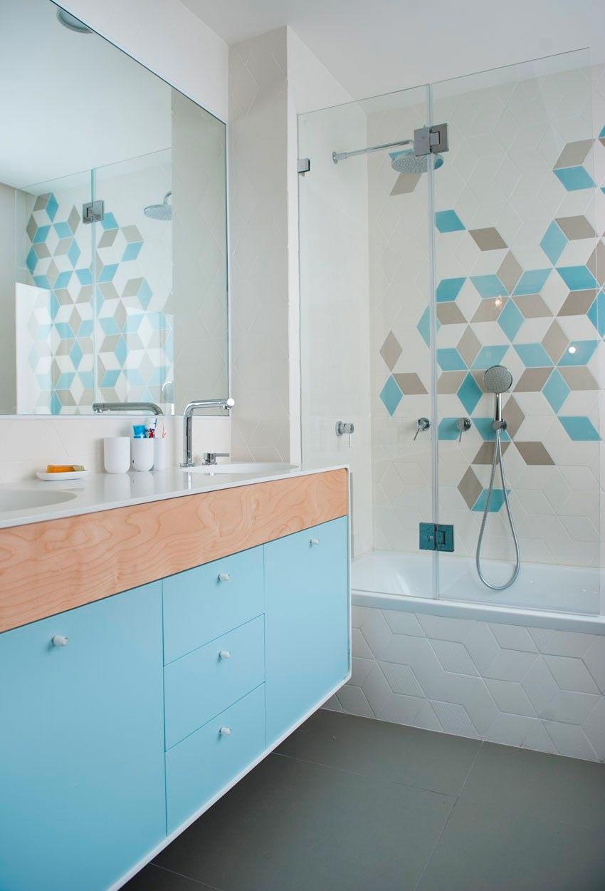 Другие варианты дизайна панно в ванной 40
