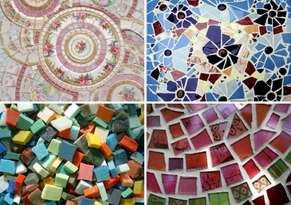 форма плитки мозаики на кухню