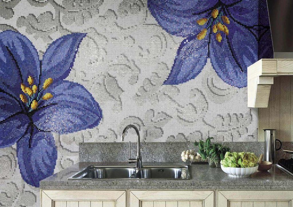 художественные мозаичные панно для кухни