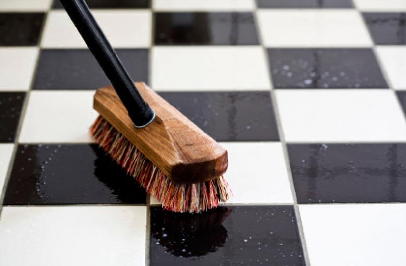 как очистить швы на полу на кухне
