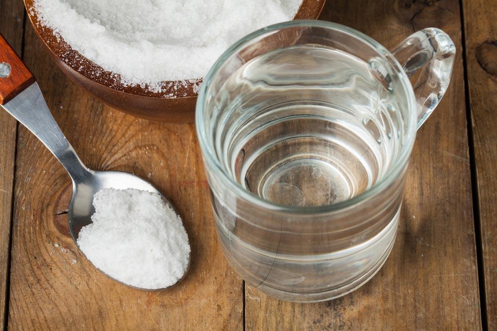 как отмыть плитку на кухне содой и водой