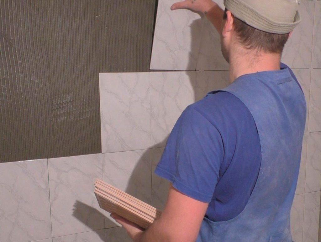 Как подготовить стену под плитку
