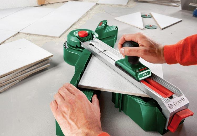 как уложить плитку на кухне-материалы