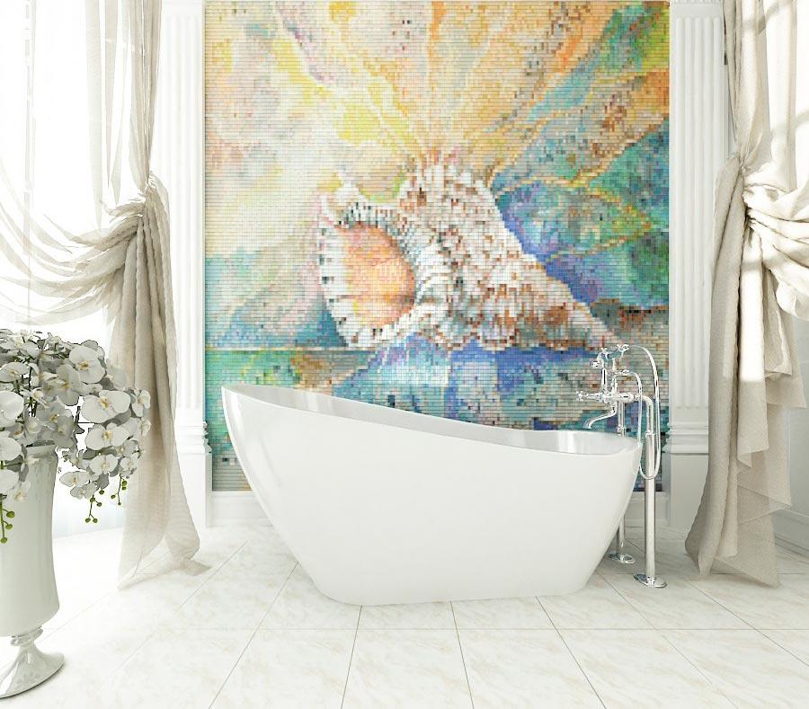 Как выбрать подходящее панно для ванной