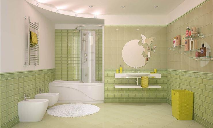 Керамическая плитка кабанчик для ванной