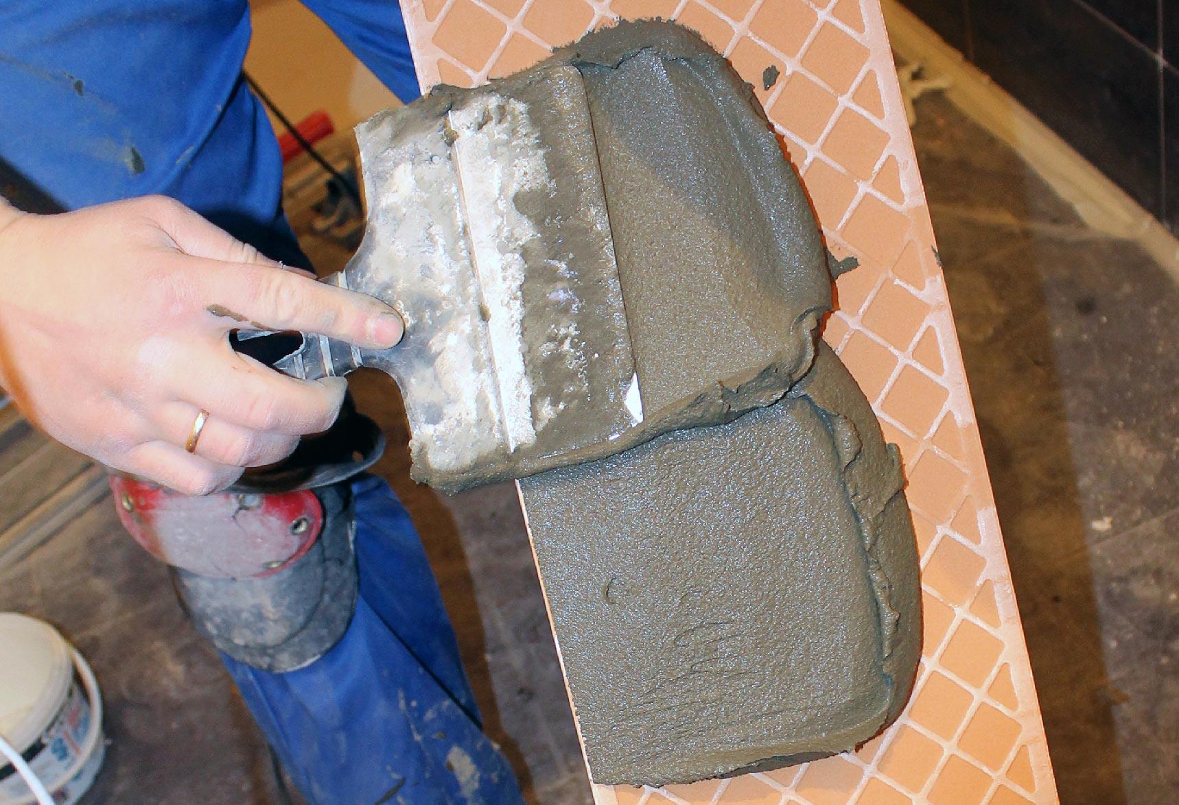клей для плитки-правила нанесения