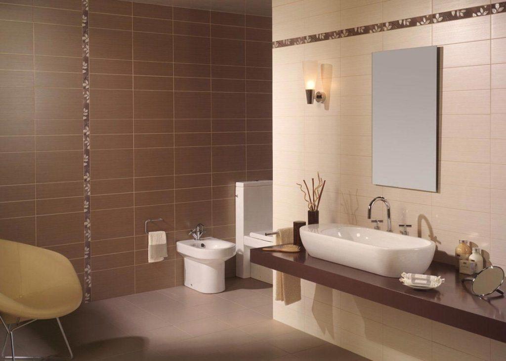 матовая плитка для ванной