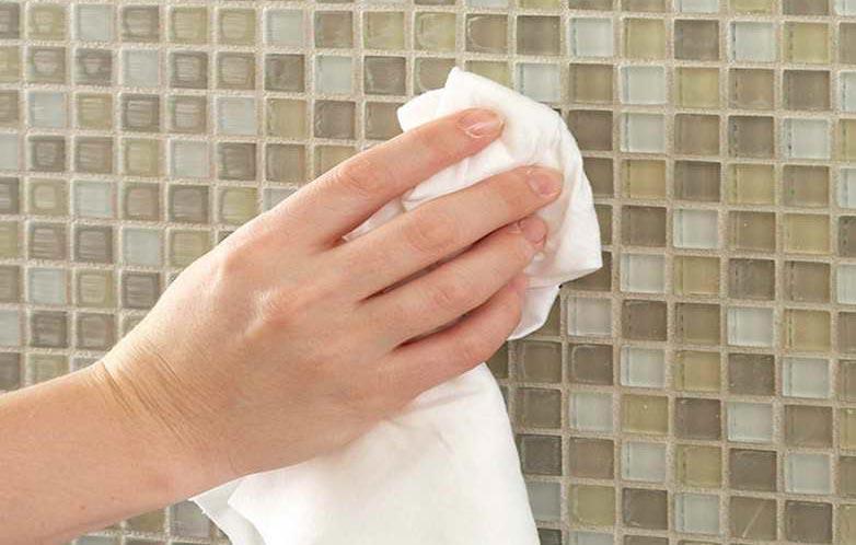 очищение межплиточных швов на кухне-рекомендации, советы