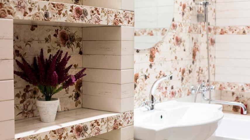 Особенности ванной в стиле шебби-шик 4