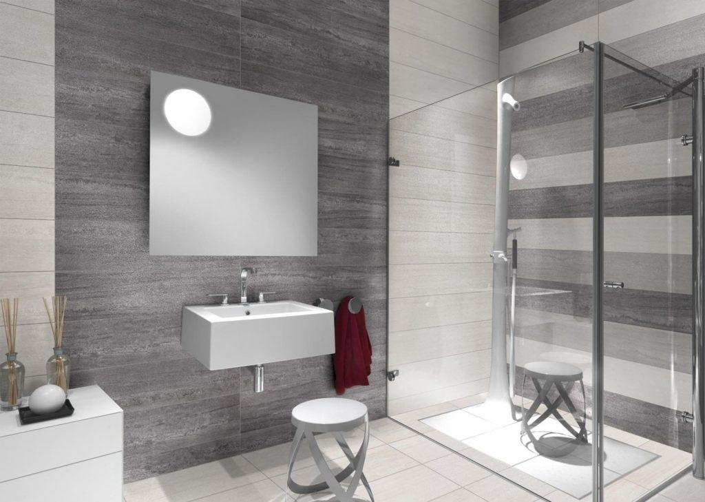палитра серого кафеля для ванной