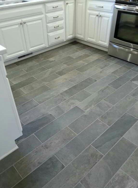 плитка на пол для кухни имитация кирпичная кладка