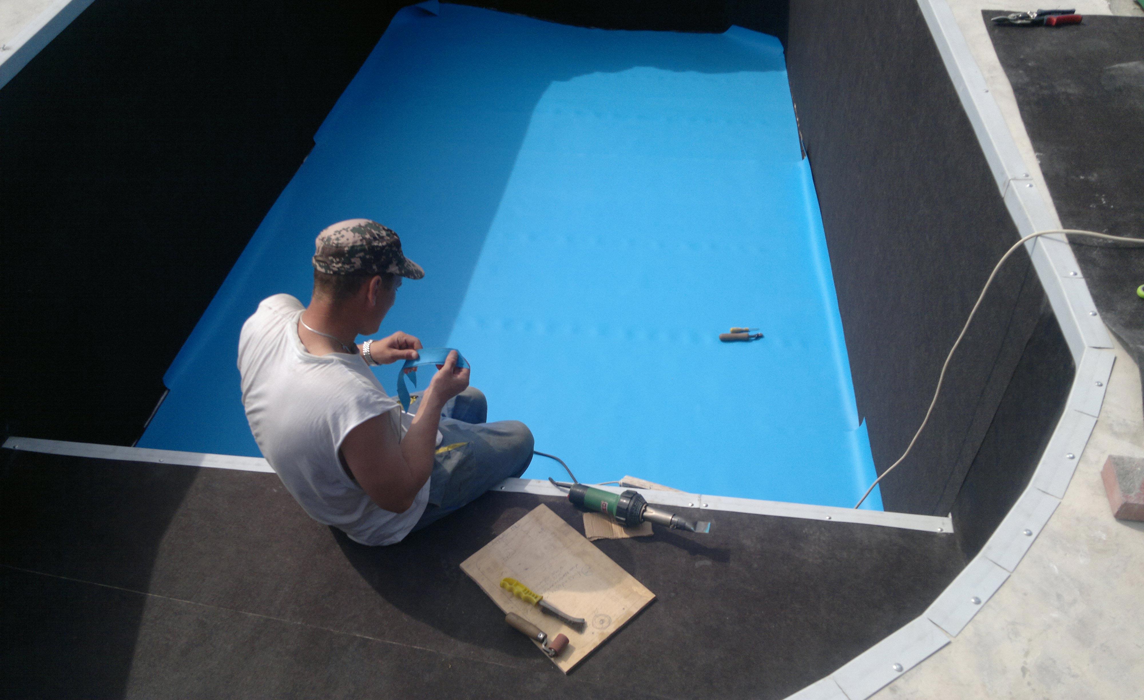 плиточный клей для бассейнов-гидроизоляция