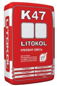 плиточный клей LITOKOL K47
