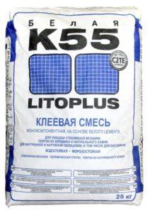 плиточный клей LITOPLUS K55