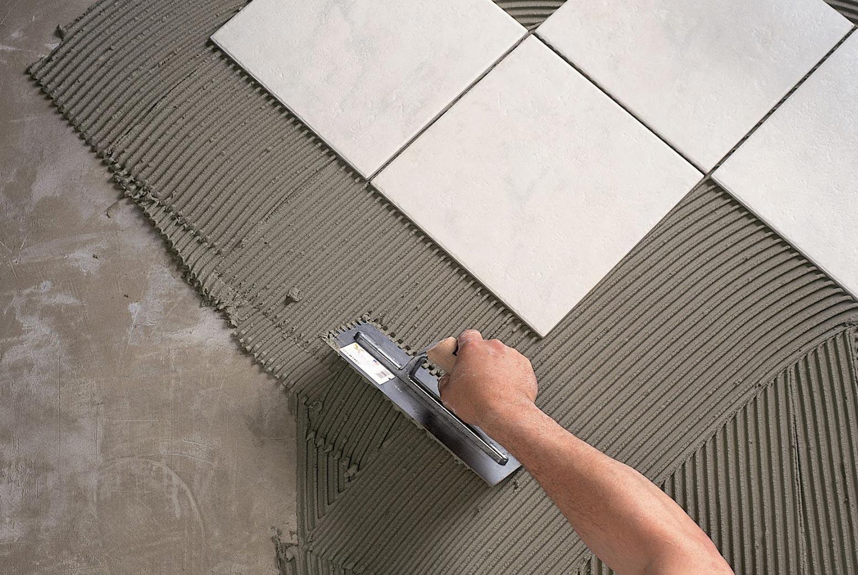 плиточный клей на цементной основе
