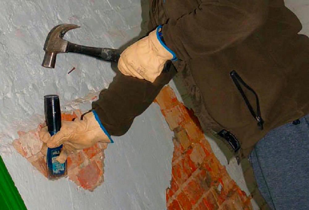 Подготовительный этап перед штукатуркой под плитку