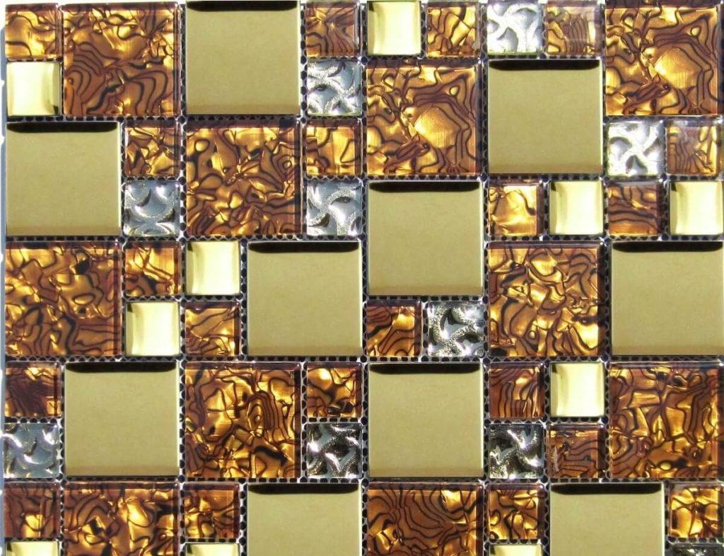 снять клей с плитки мозаики