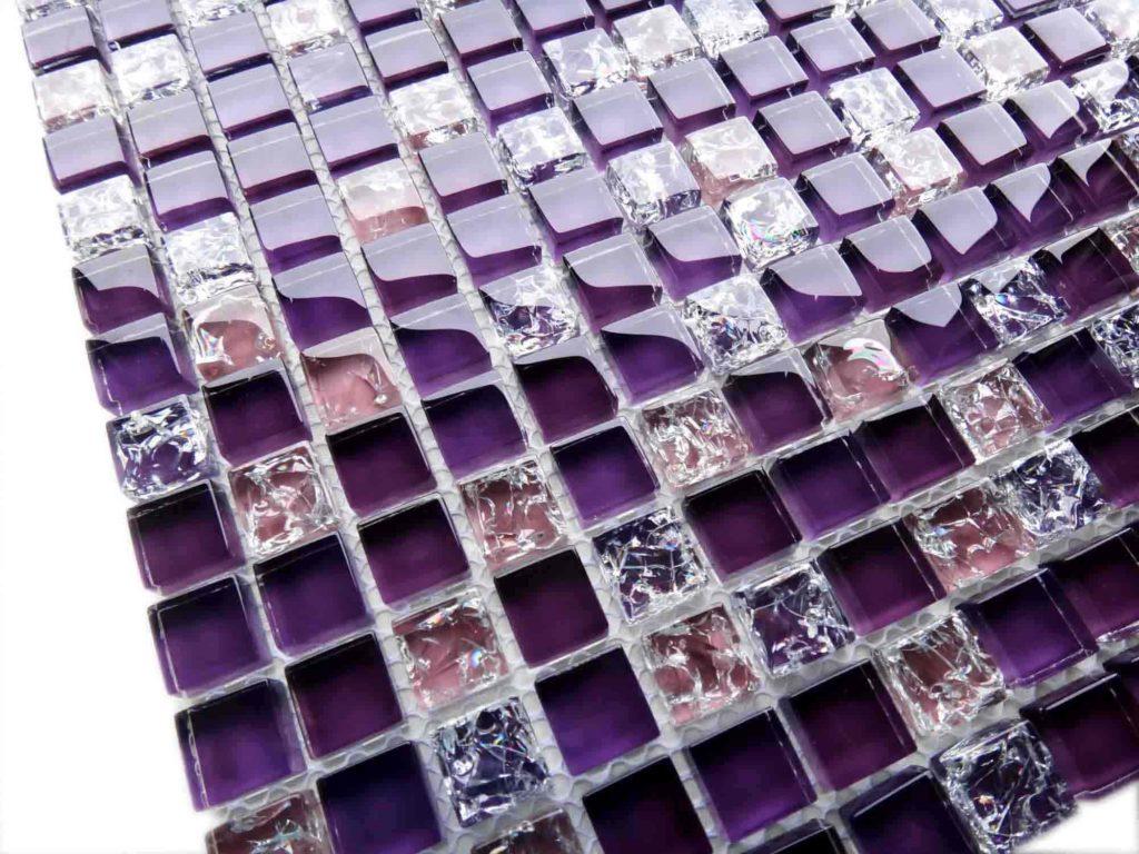 стеклянная мозаика на кухню