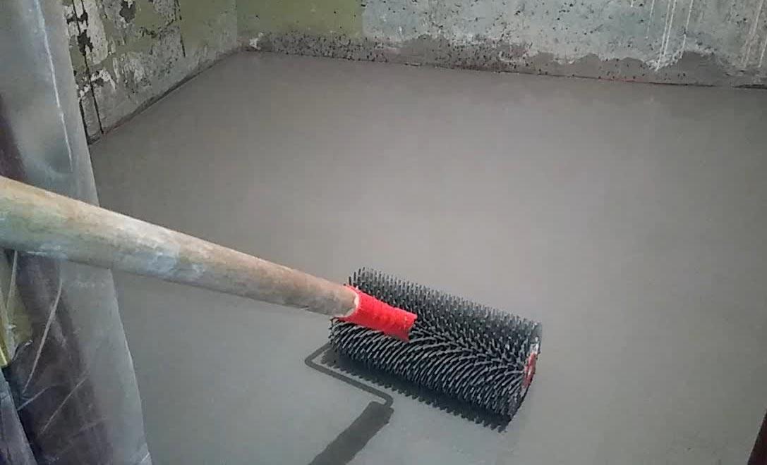 стяжка на пол в под плитку-выбор