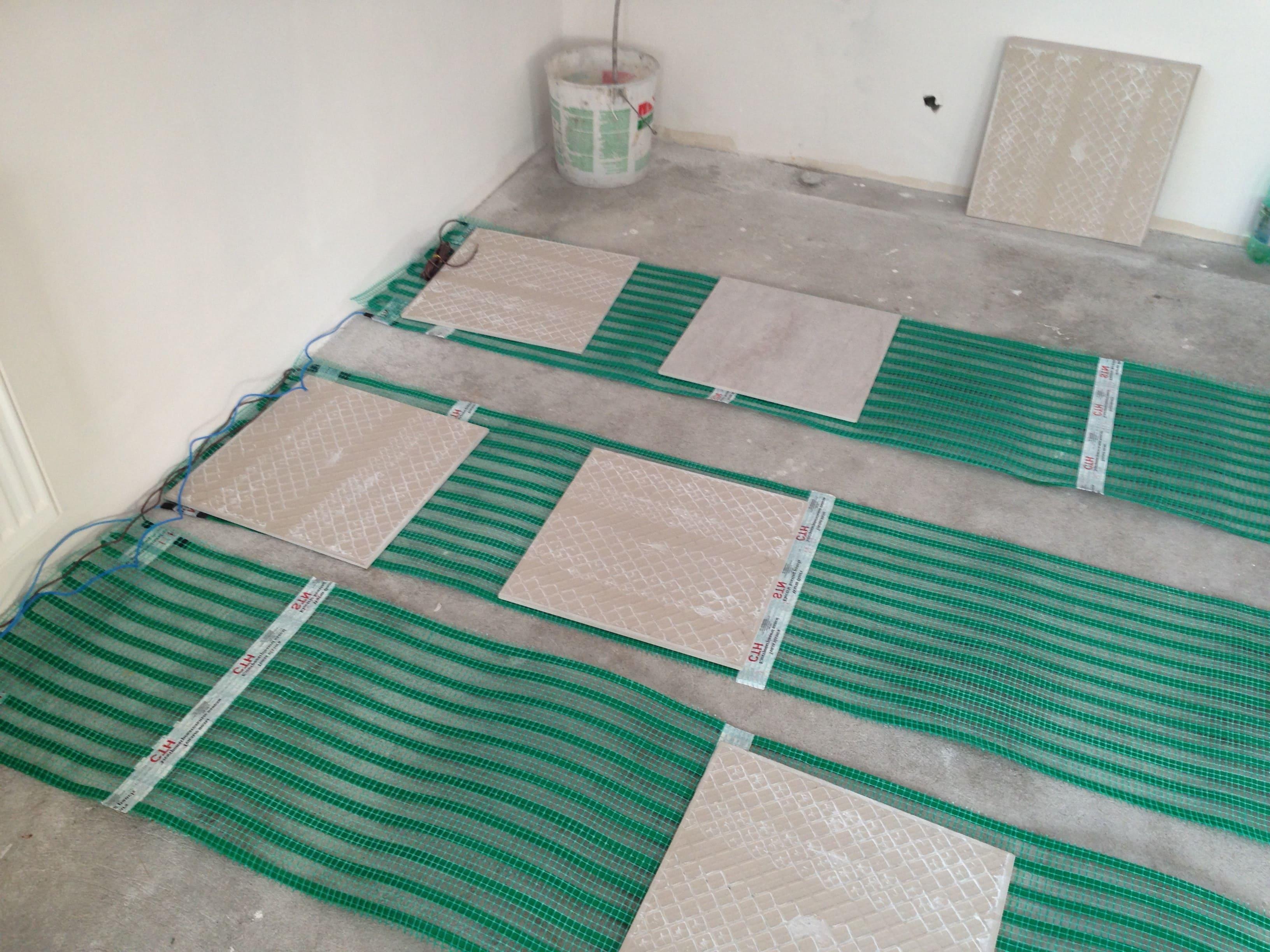 теплый пол плитка