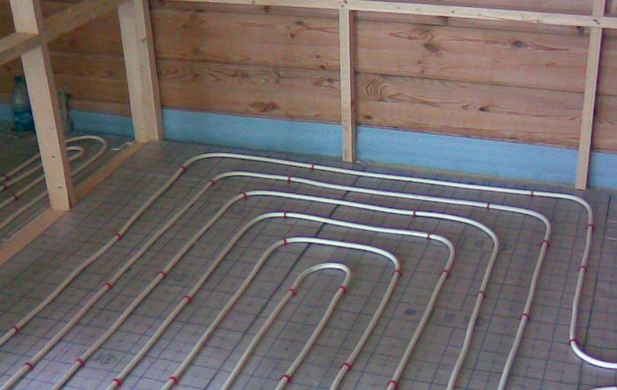 теплый пол в бане под плитку-советы по выбору