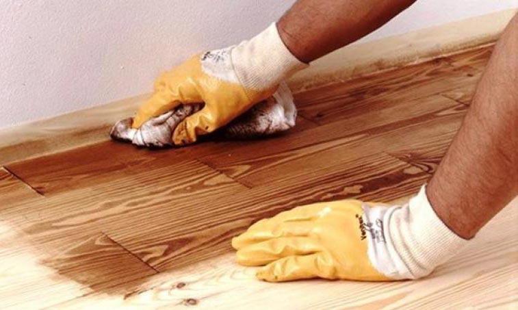 укладка плитки на деревянный пол в ванной-обработка пола