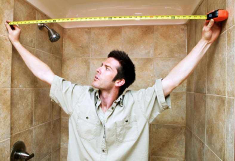 укладка плитки в ванной-расчет количества