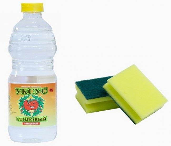 уксус для чистки плитки на кухне-советы