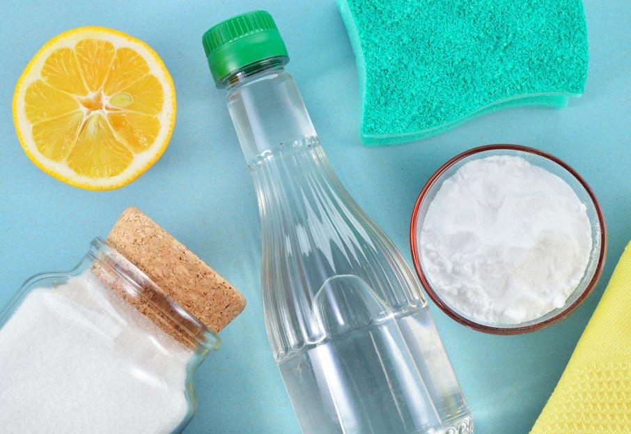 уксус, сода, лимонная кислота для чистки швов плитки
