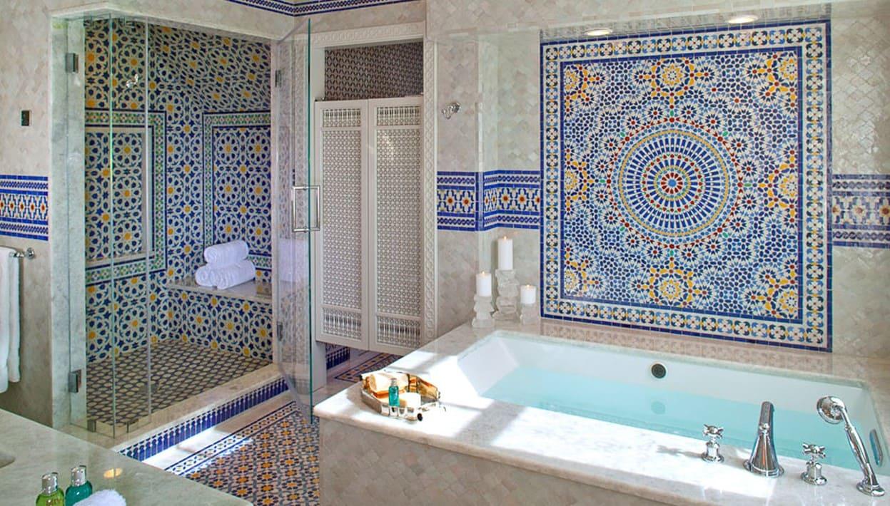 ванная комната марокканский стиль