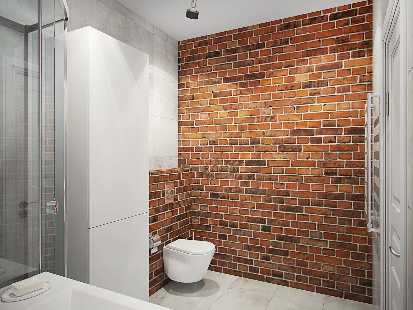 ванная комната стиль лофт италия