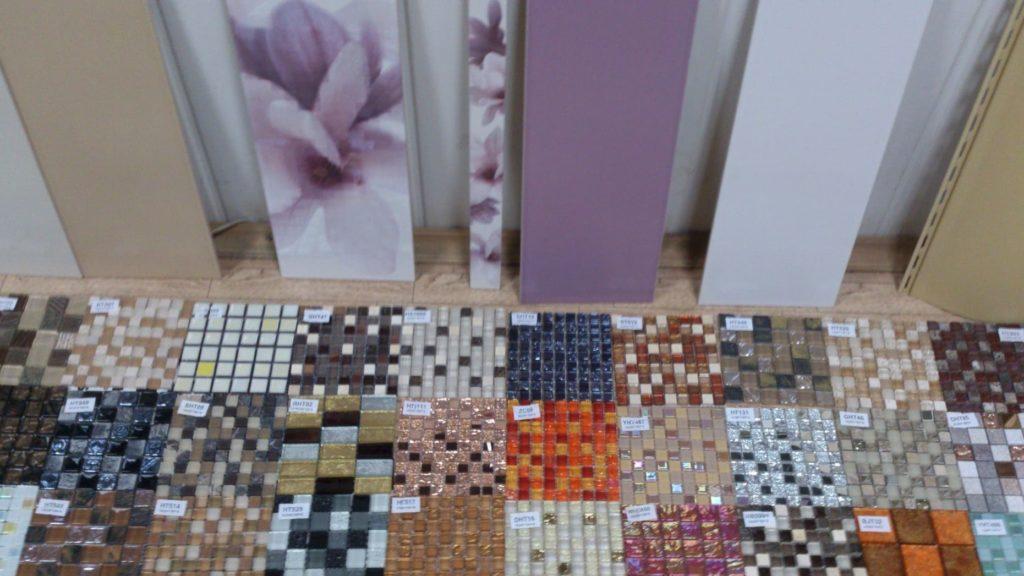 выбор плитки мозаики