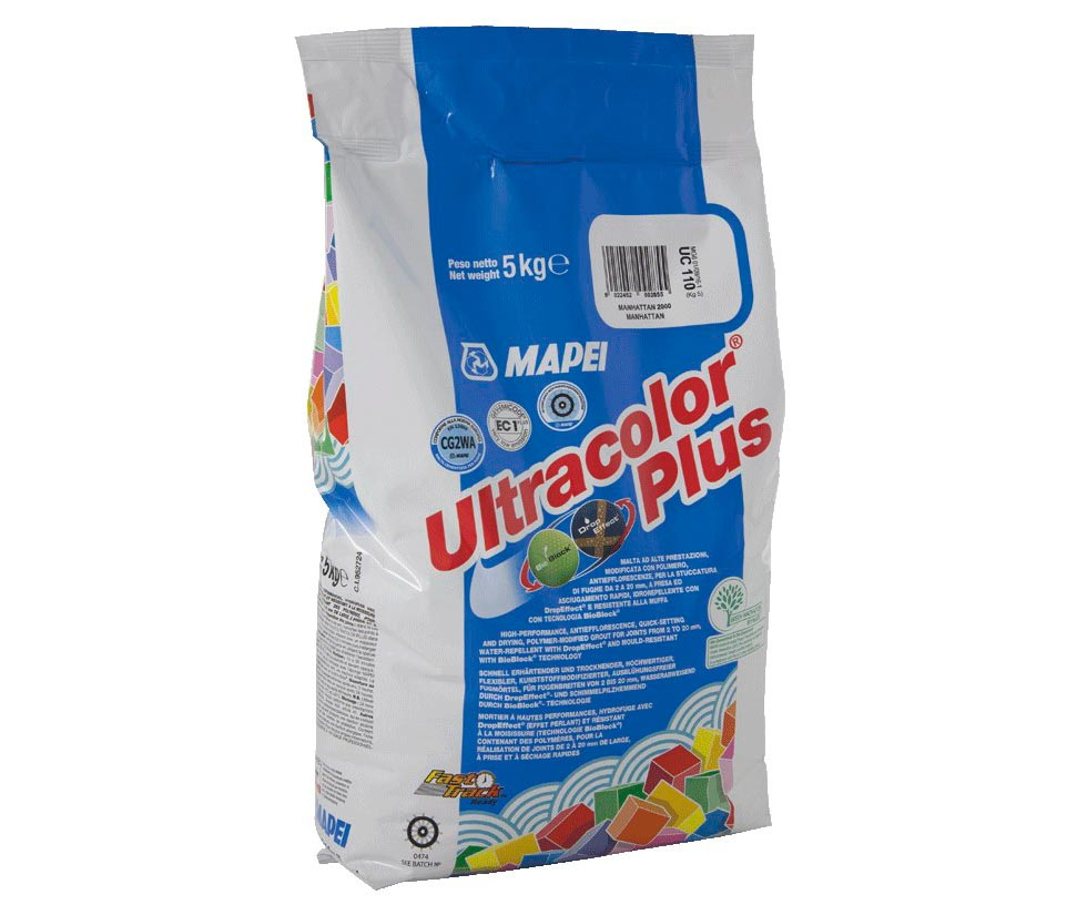 Затирка для плитки Mapei Ultracolor Plus