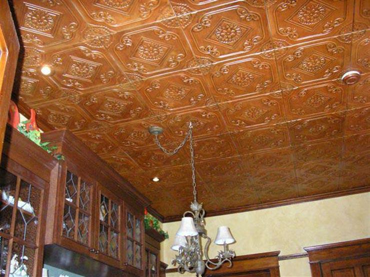 Экструдированная плитка для потолка