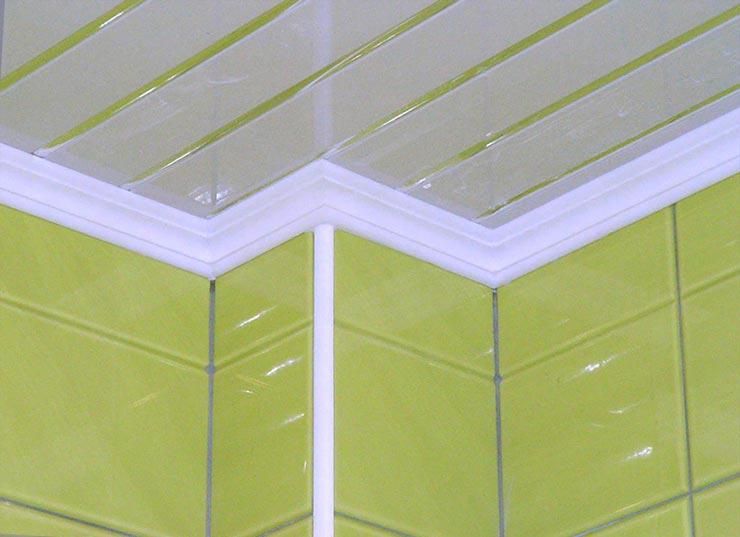 Пластиковая потолочная плитка