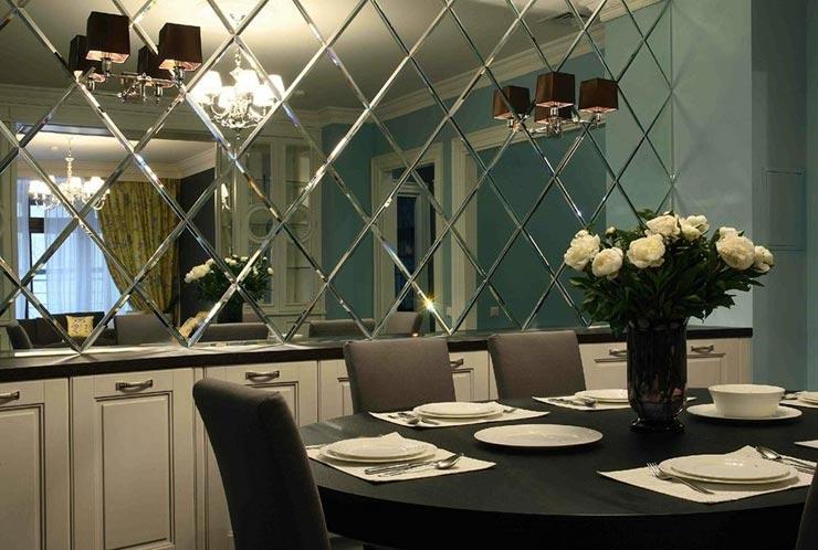 Зеркальные панели лофт