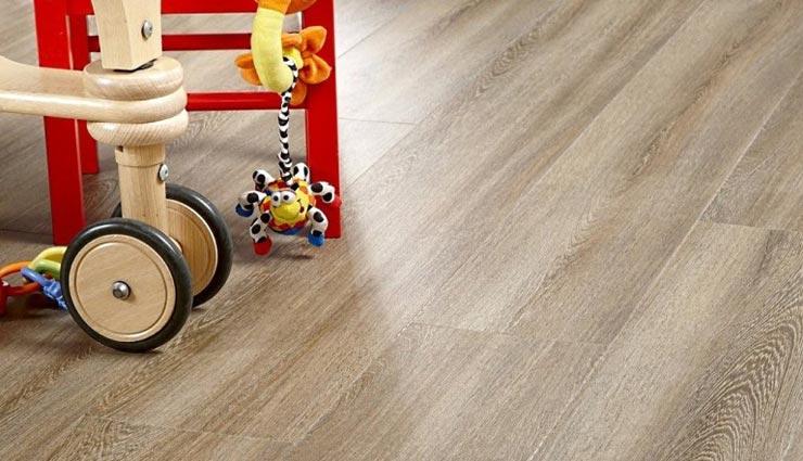 Кварцвиниловая плитка в детскую комнату