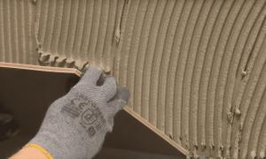 Толщина плитки с клеем на стену, пол или потолок