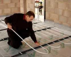 Теплый водяной пол под плитку: инструкция по монтажу