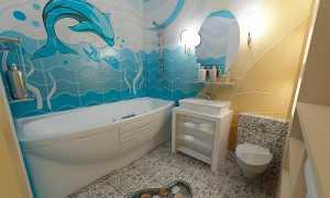 Как обновить плитку в ванной не меняя ее?