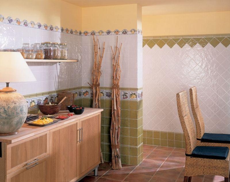 Испанская плитка для ванной комнаты