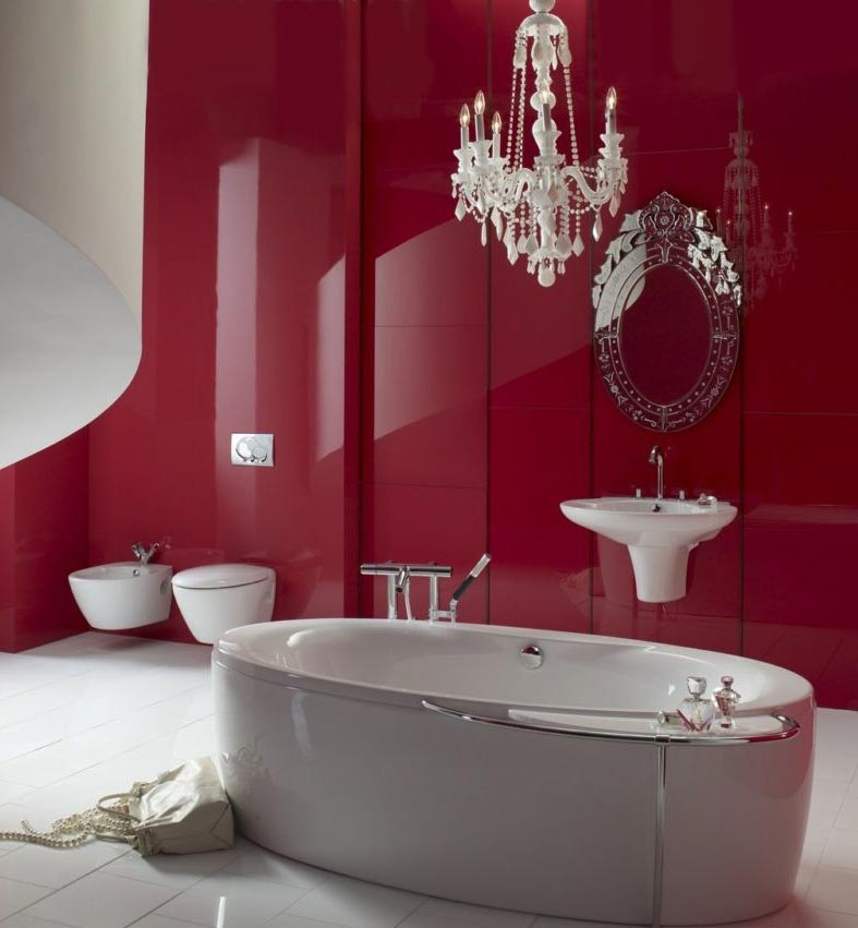 дизайн современной ванной-варианты