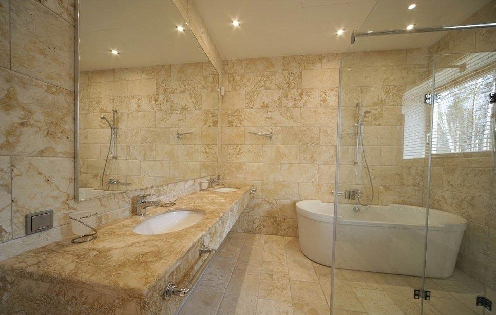 Гибкий мрамор для ванной
