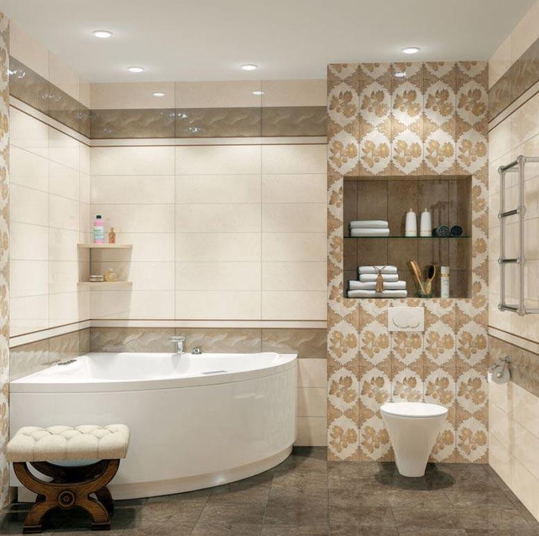 испанская плитка для ванной дизайн