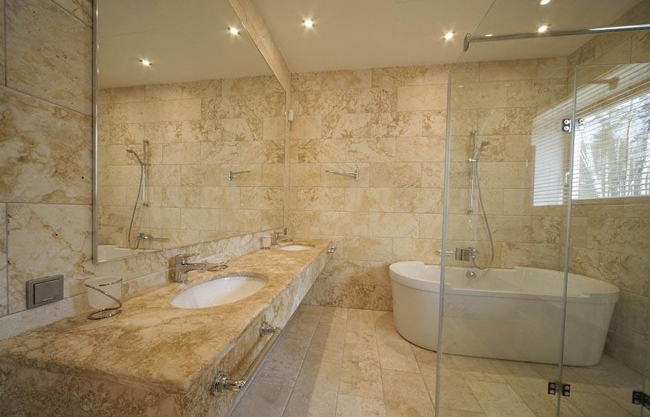 каменная плитка для ванной-современный дизайн