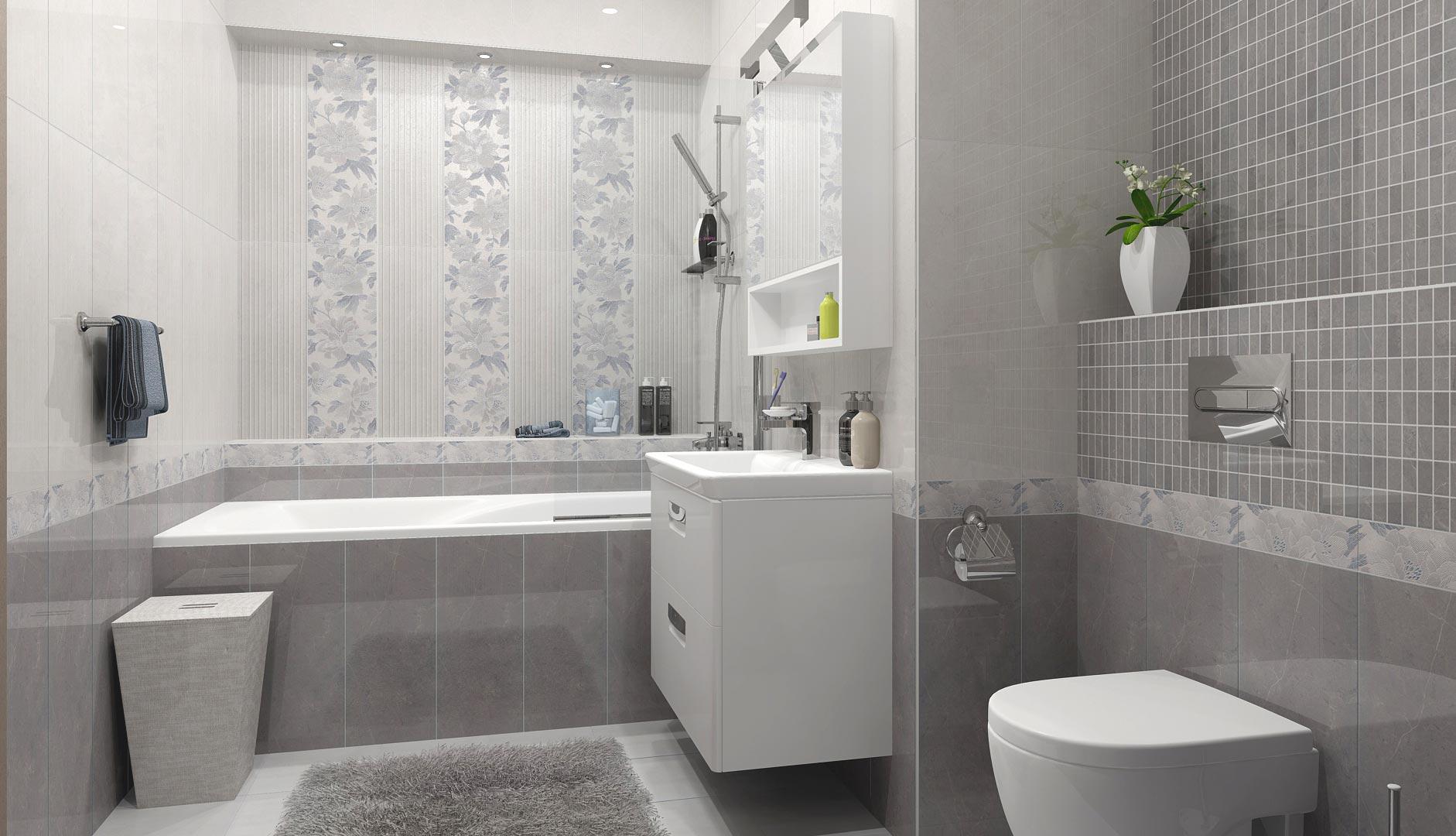 Керама Марацци для ванной - варианты