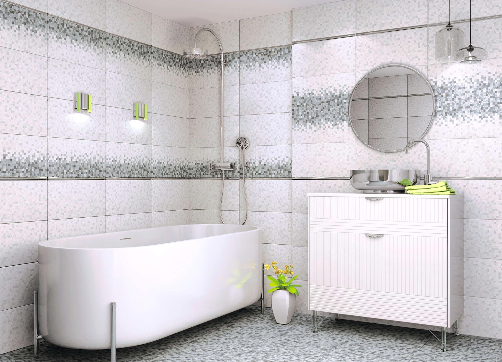 керамическая плитка для современной ванной