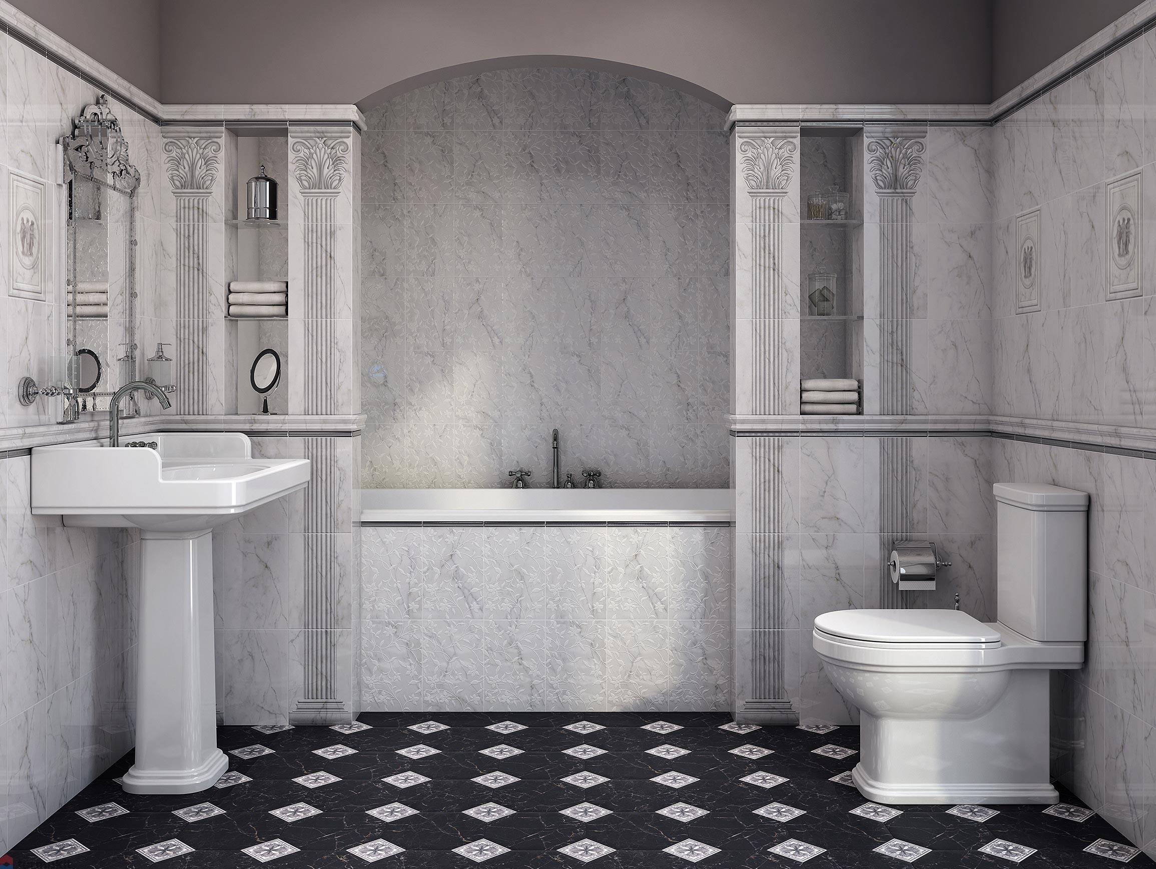 керамическая плитка керама марацци для ванной
