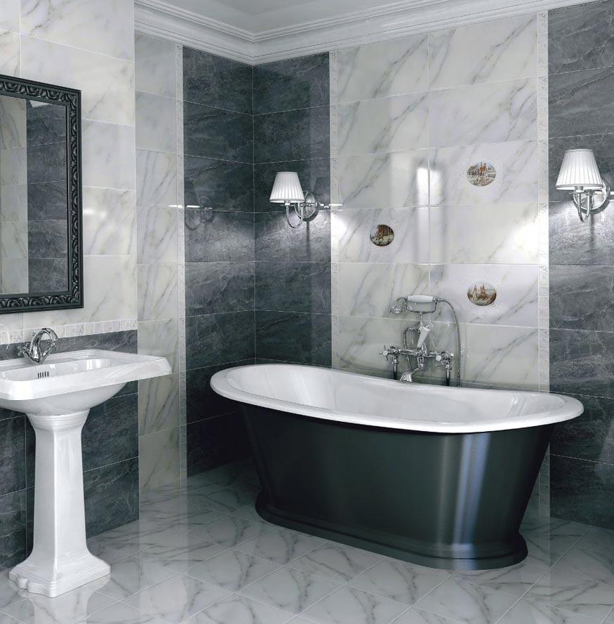 керомогранит керама марацци для ванной-дизайн